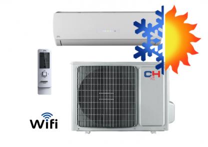 Oro kondicionierius/šilumos siurblys (oras-oras) ICY inverter CH-S09FTXTB2S-W (-30°C)
