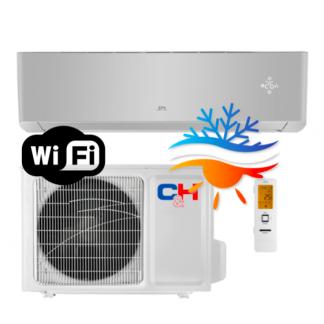Oro kondicionierius/šilumos siurblys Cooper&Hunter SUPREME SILVER Inverter CH-S18FTXAM2S-SC (-30°C)