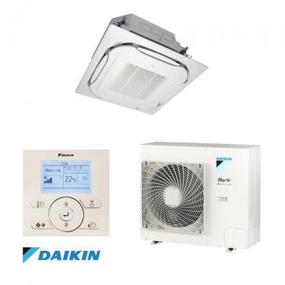 Oro kondicionierius/ šilumos siurblys (oras-oras) Daikin Split ROUND-FLOW Inverter FCAG35B/RXM35N9 (-15°C)