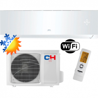 Oro kondicionierius/šilumos siurblys Cooper&Hunter SUPREME WHITE Inverter CH-S12FTXAM2S-WP (-30°C)