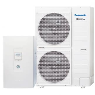 "Panasonic Aquarea T-CAP ""Bi-Bloc"" šilumos siurblys oras-vanduo KIT-WXC16H9E8 (trifazis)"
